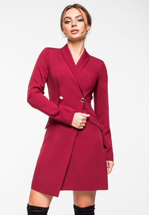 Купить Платье itelle, mp002xw1hthi, бордовый, Осень-зима 2018/2019