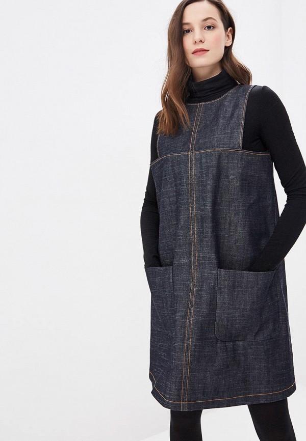 Платье джинсовое Clabin Clabin MP002XW1HTJ3 недорго, оригинальная цена