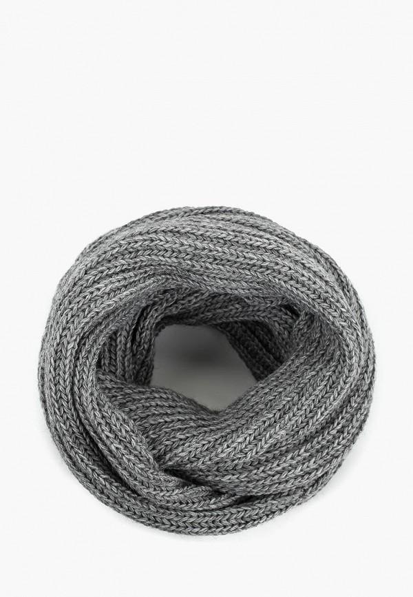 женский снуд anymalls, серый