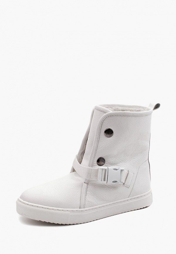 женские ботинки my kos, белые