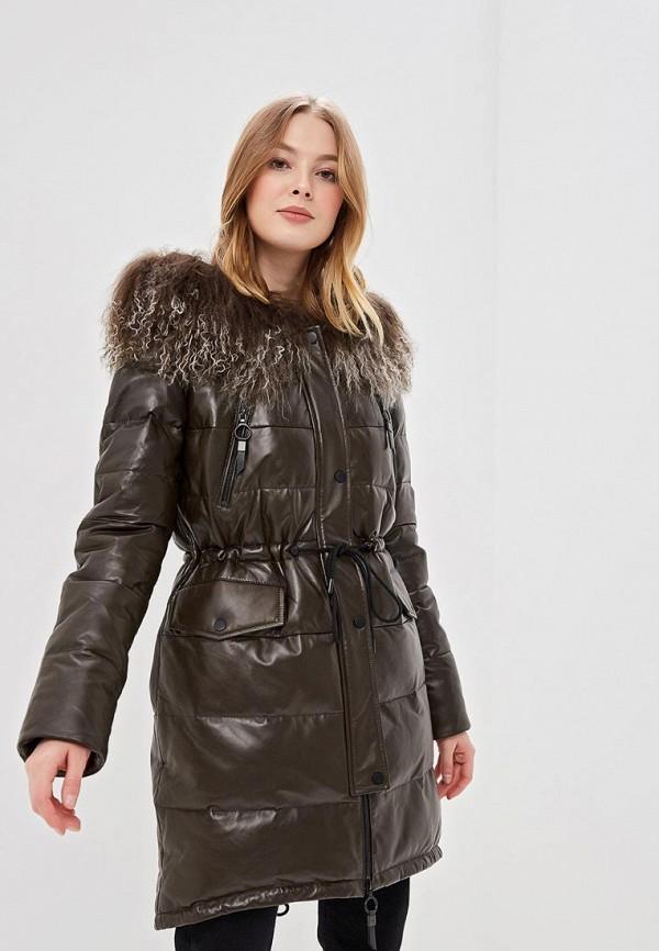 женская куртка la reine blanche, хаки