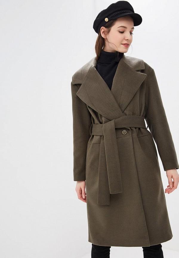 женское пальто alina assi, хаки
