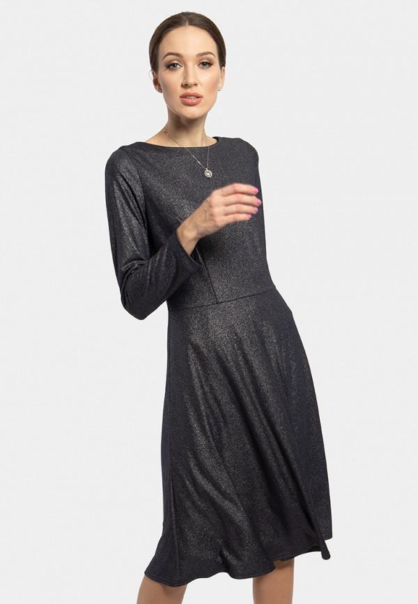 женское вечерние платье vladi collection, синее
