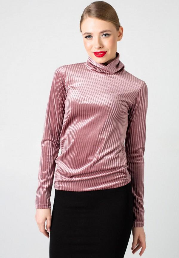 женская водолазка irma dressy, розовая