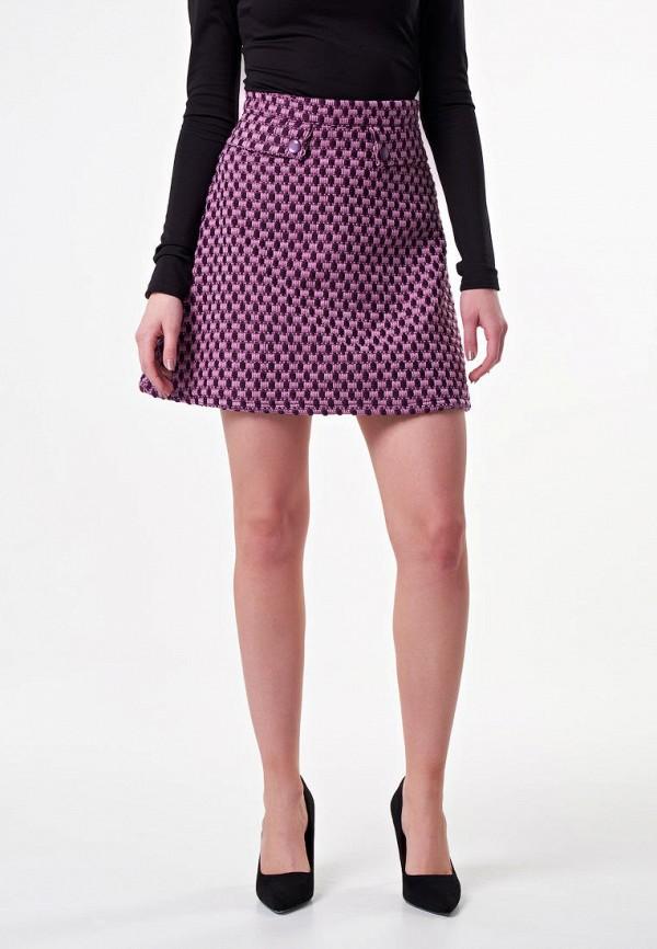 женская юбка irma dressy, розовая