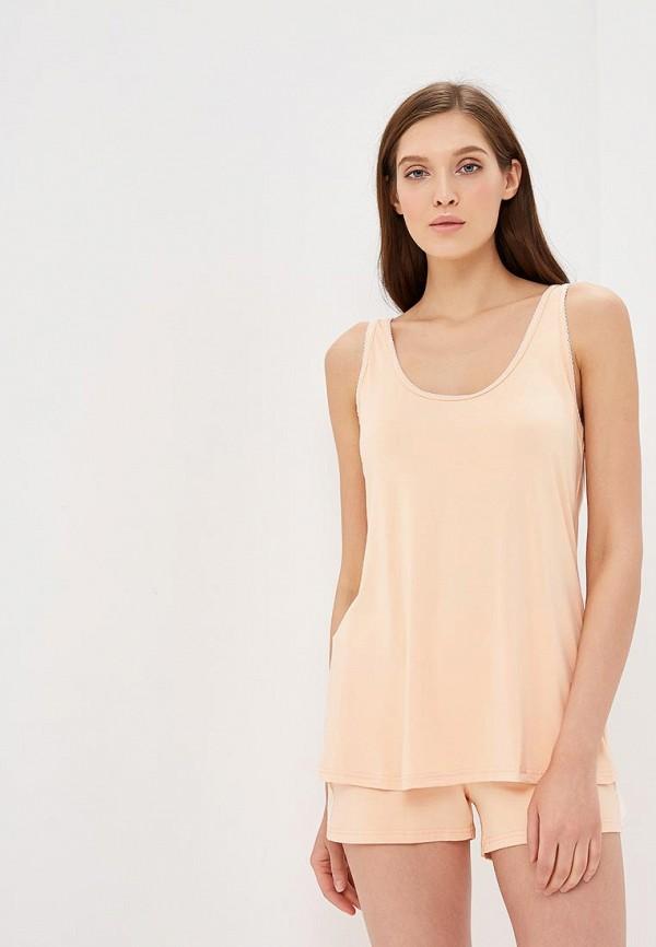 женская пижама lika dress, оранжевая
