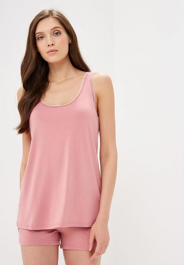 женская пижама lika dress, розовая