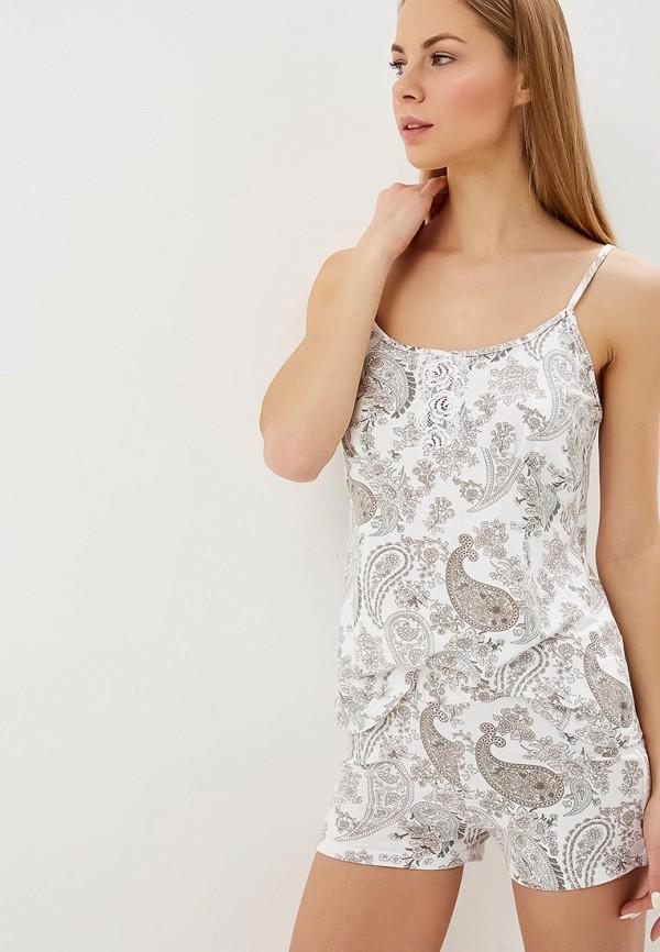 женская пижама lika dress, белая