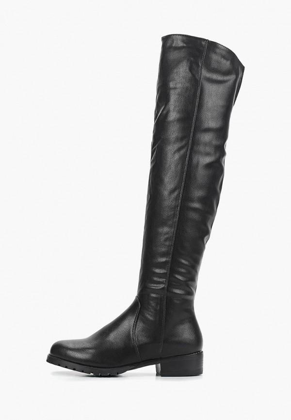женские ботфорты luvelena, черные