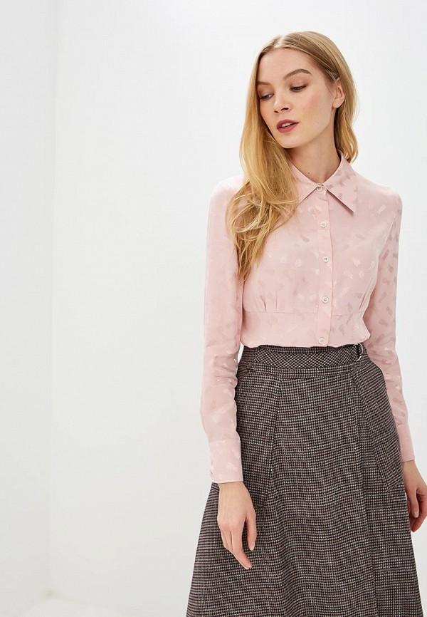 женская блузка gregory, розовая