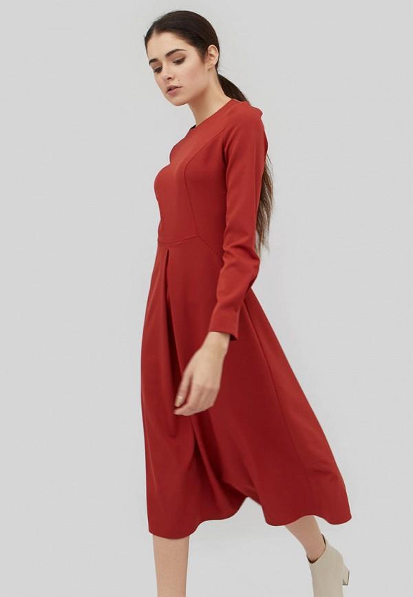 женское повседневные платье cardo, коричневое