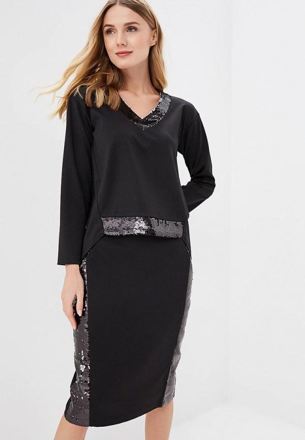 женский костюм yukostyle, черный