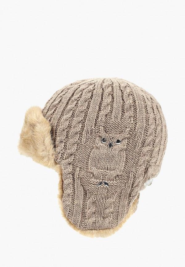 женская шапка сиринга, бежевая