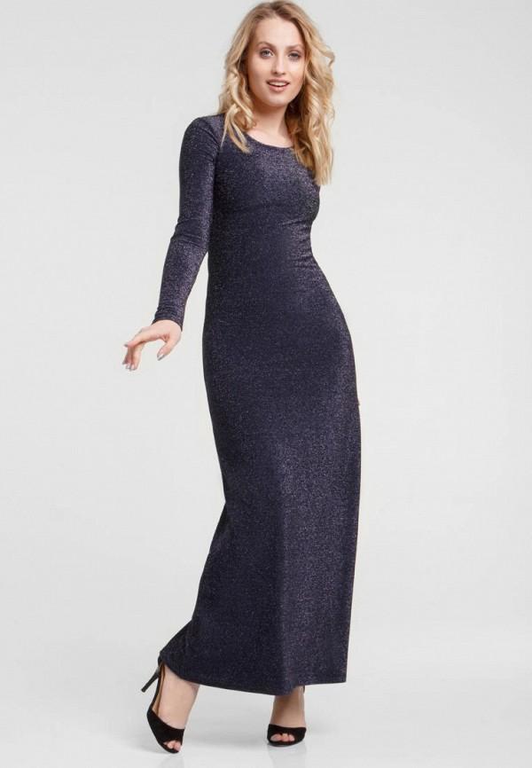женское вечерние платье oks by oksana demchenko, синее