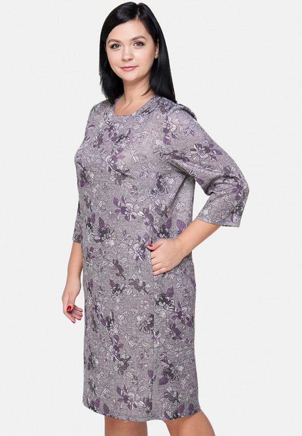 женское повседневные платье limonti, фиолетовое