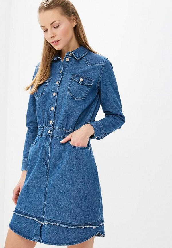 Платье джинсовое Befree Befree MP002XW1HUFT