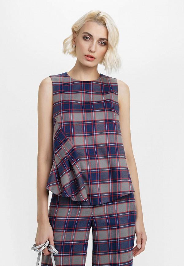 женская блузка audrey right, разноцветная
