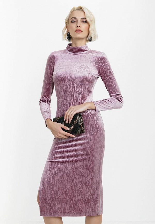 женское вечерние платье audrey right, фиолетовое