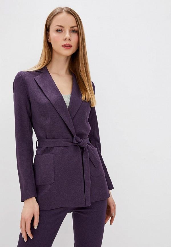женский жакет la biali, фиолетовый