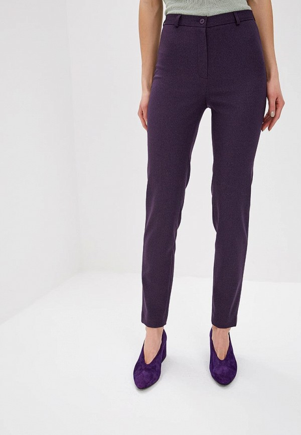 женские классические брюки la biali, фиолетовые