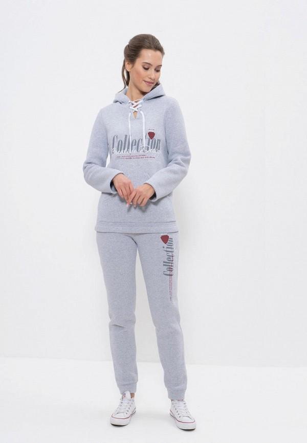 женский спортивные спортивный костюм cleo, серый