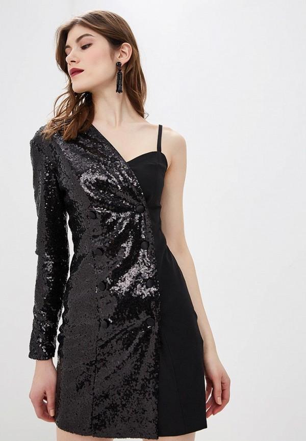 женское вечерние платье self made, черное