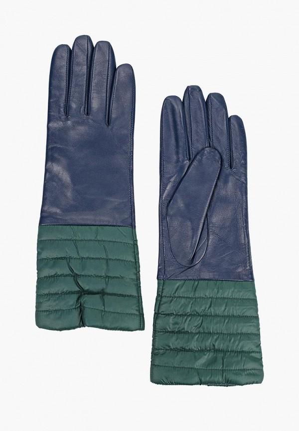 женские перчатки labbra, синие