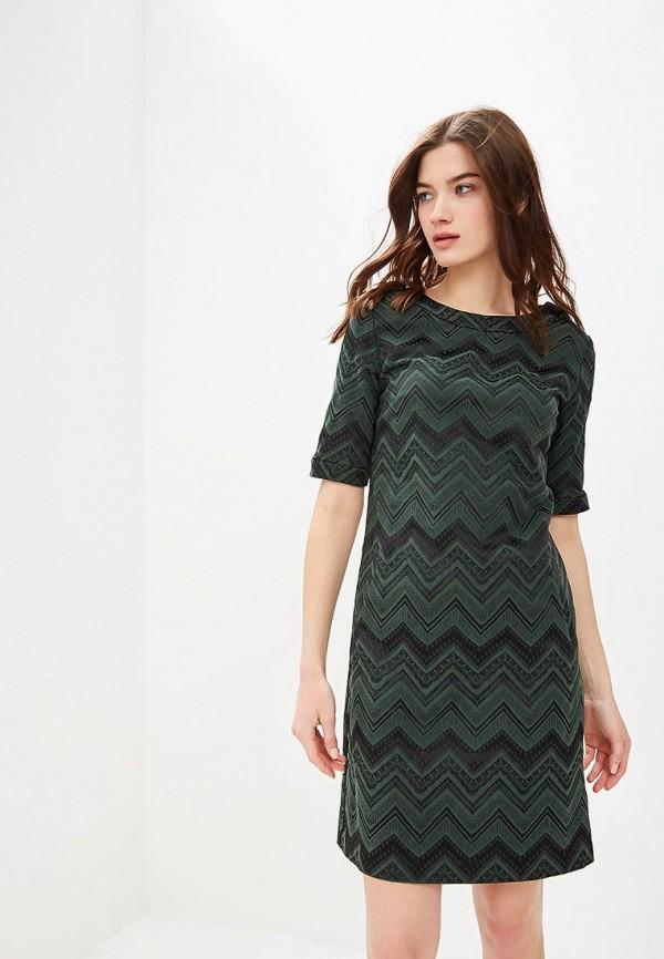 женское повседневные платье мадам т, зеленое