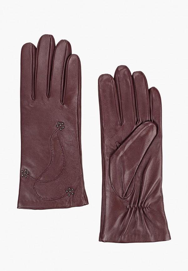 женские перчатки eleganzza, фиолетовые