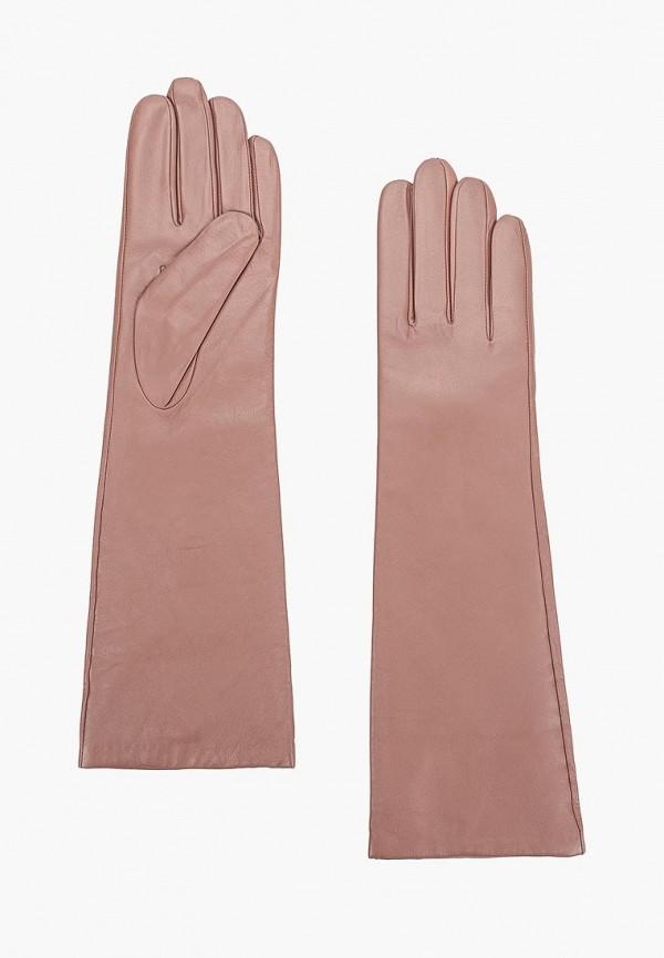 женские перчатки eleganzza, розовые