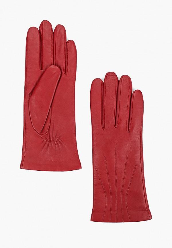 женские перчатки labbra, красные