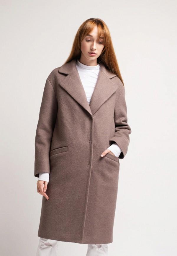 женское пальто urban streets, фиолетовое