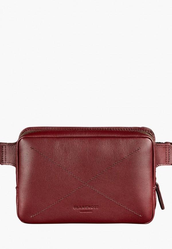 женская сумка blanknote, бордовая