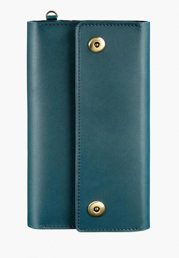 женский кошелёк blanknote, бирюзовый