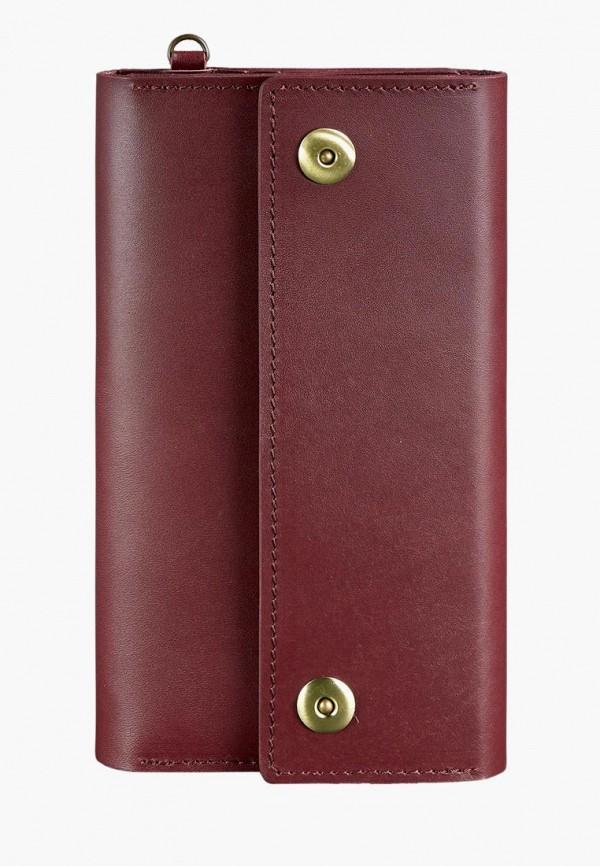 женский кошелёк blanknote, бордовый