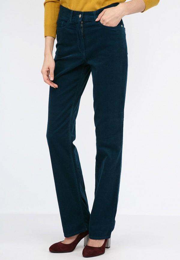 женские прямые брюки lagrand, синие