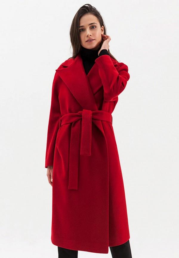 женское пальто ligio, красное