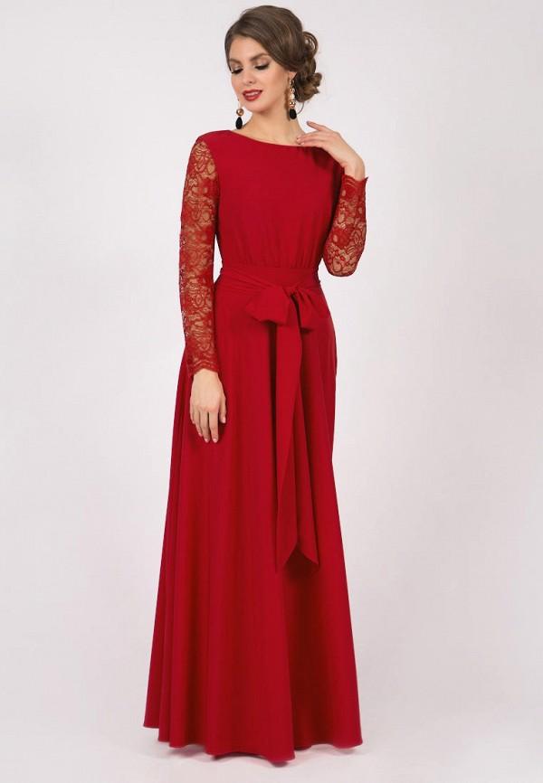 женское вечерние платье olivegrey, красное