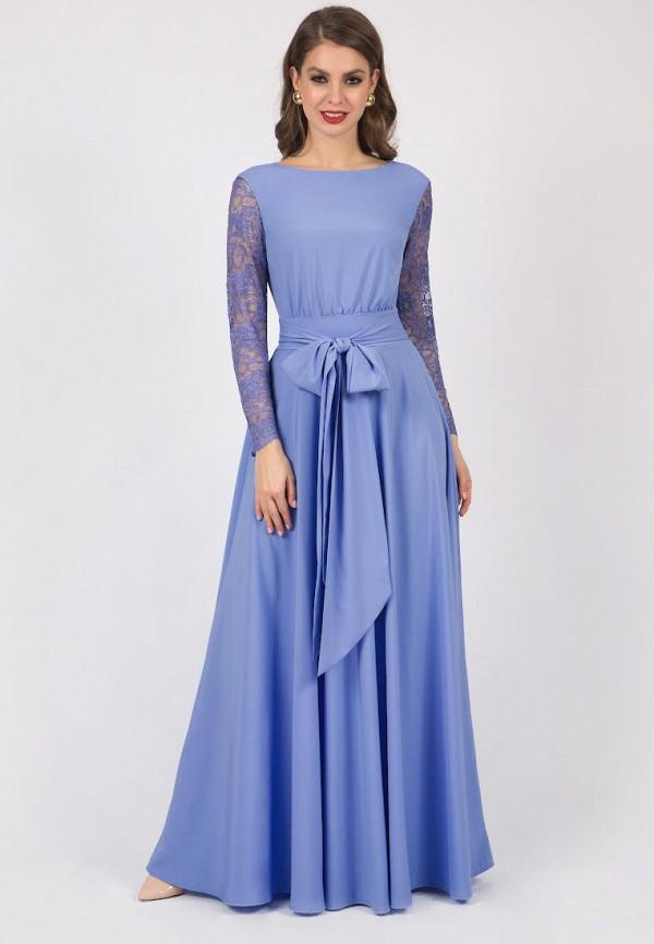 женское вечерние платье olivegrey, голубое