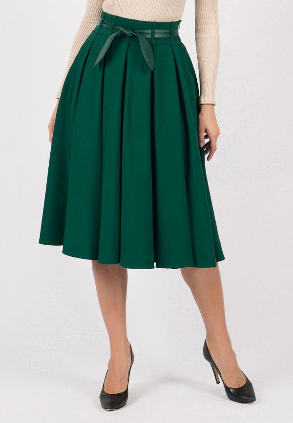 женская юбка olivegrey, зеленая