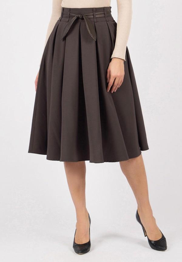 женская юбка olivegrey, коричневая