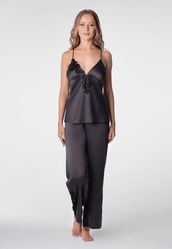 женская пижама komilfo, черная