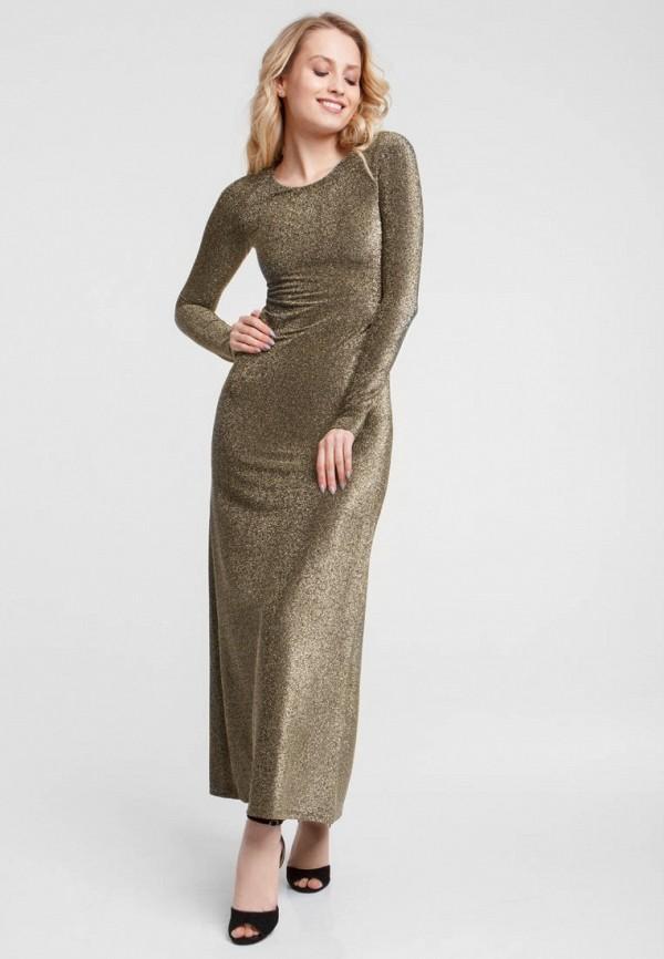 женское вечерние платье oks by oksana demchenko, золотое