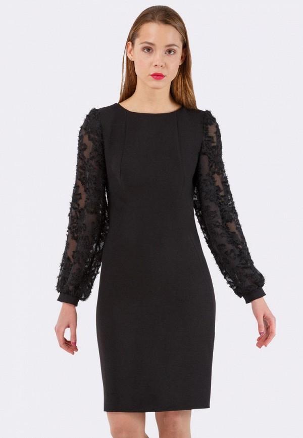 женское вечерние платье cat orange, черное