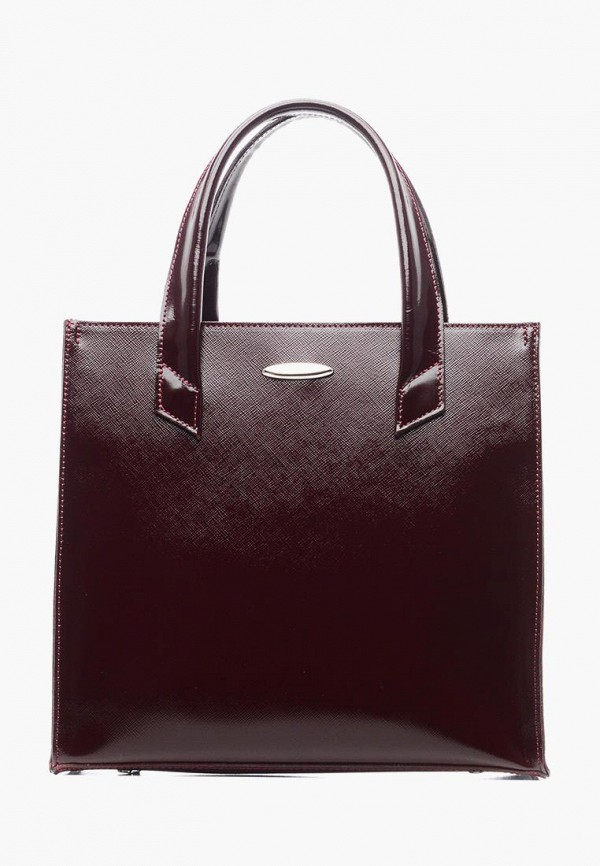 женская сумка suffle, бордовая