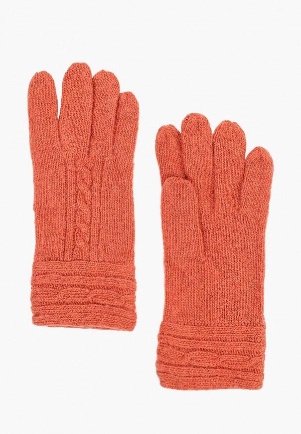 женские перчатки modo gru, оранжевые