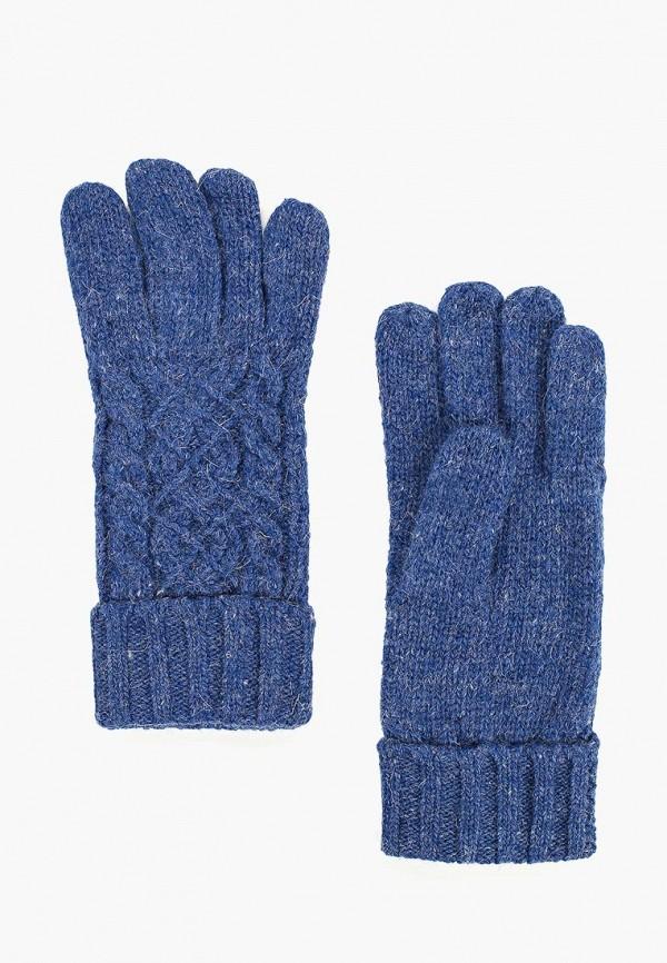 женские перчатки modo gru, синие