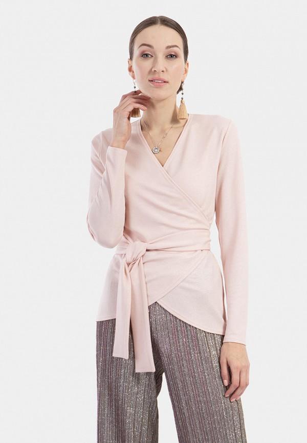 женская блузка vladi collection, розовая