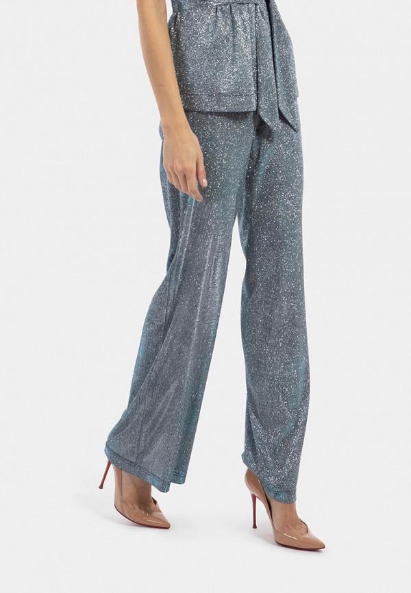 женские повседневные брюки vladi collection, синие