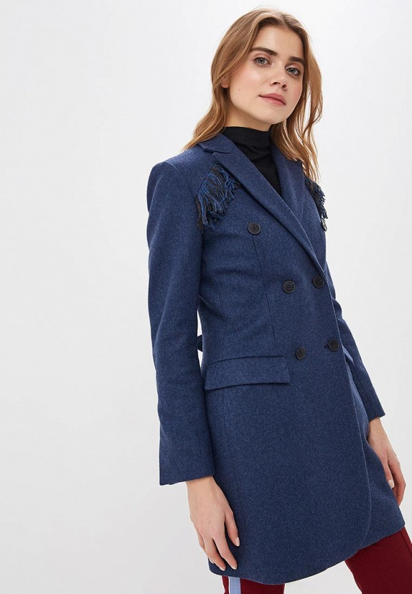 Двубортные пальто форма